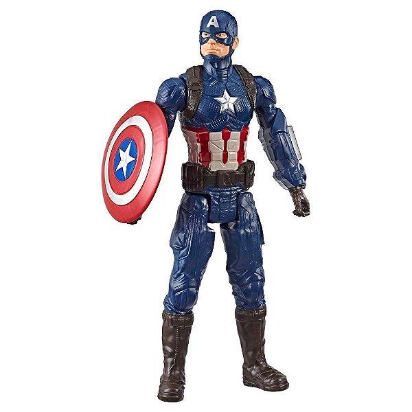 Boneco Titan Hero Series – Capitão América - Hasbro