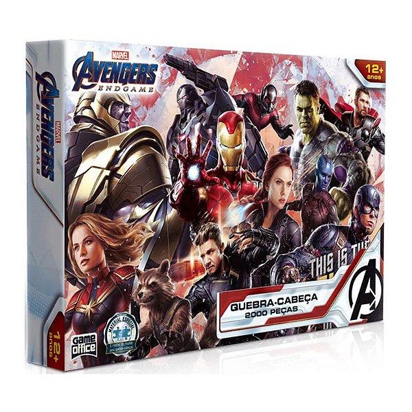 Quebra-Cabeça Disney Marvel - Vingadores - Guerra Infinita 2000 Peças - Toyster