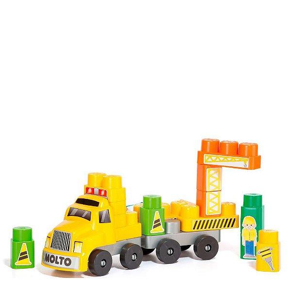 Baby Land Blocos de Montar - Caminhão Construtor - Cardoso Toys