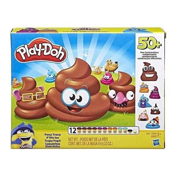 Play Doh Conjunto Caquinhas Divertidas - Hasbro