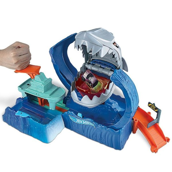 Hot Wheels - City Robô Tubarão - Mattel