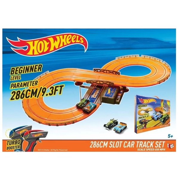 Pista Autorama Hot Wheels Track Set - Multikids