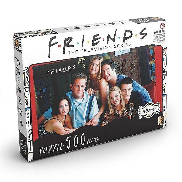 Quebra Cabeça (Puzzle) Friends 500 peças - Grow
