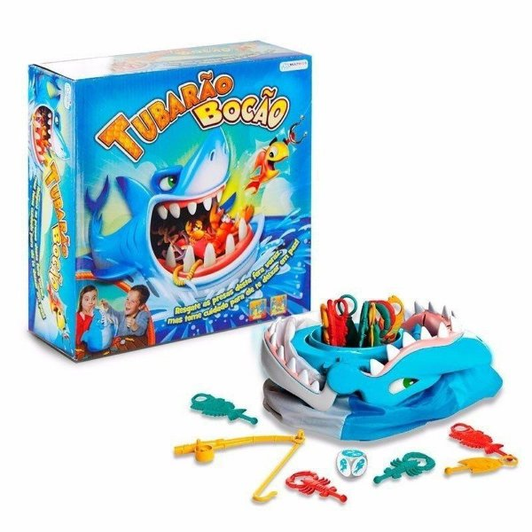 Jogo Tubarão Bocão - Multikids