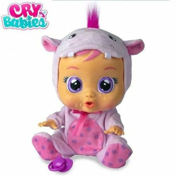 Boneca Que Chora Cry Babies Hopie - Multikids