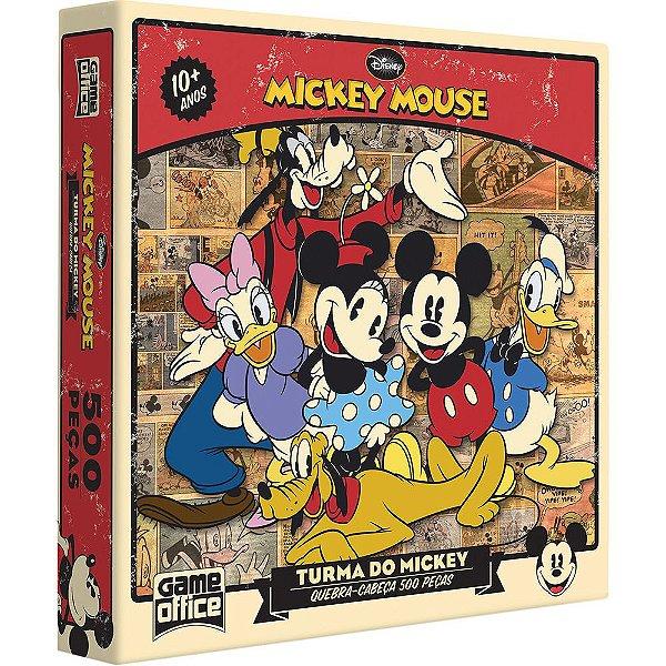 Quebra Cabeça Turma do Mickey Mouse 500 Peças - Disney - Toyster