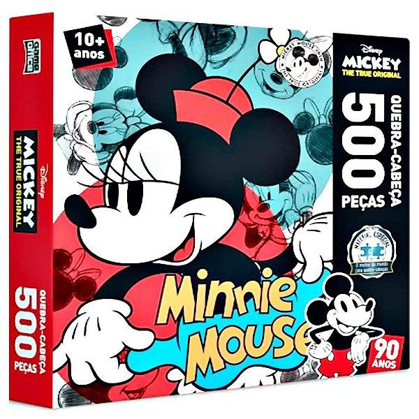 Quebra Cabeça Minnie 500 Peças - Disney - Toyster