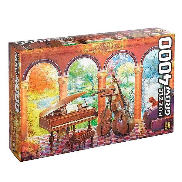 Quebra Cabeça Vivaldi as Quatro Estações 4000 peças - GROW