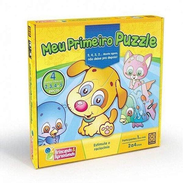 Meu Primeiro Puzzle - GROW