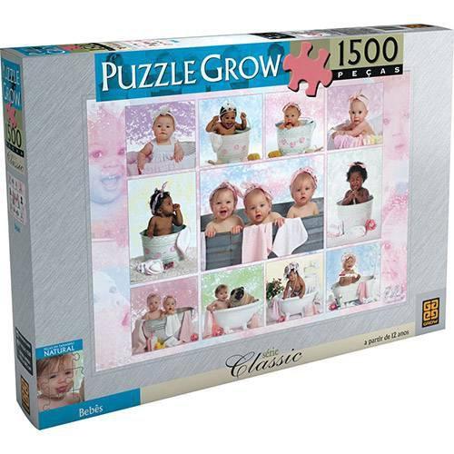Quebra Cabeça Bebês 1500 Peças - Grow