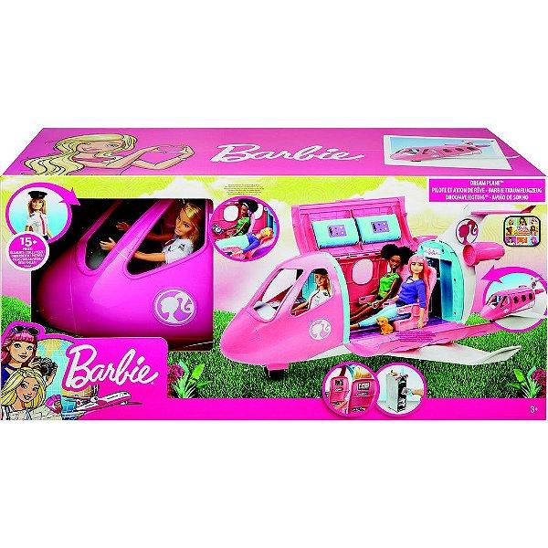 Barbie Explorar e Descobrir Jatinho De Aventuras - Mattel