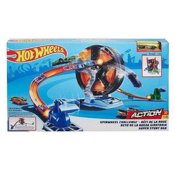 Pista Hot Wheels Action - Competição Giratória - Mattel