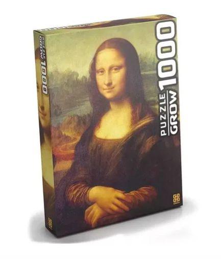 Quebra Cabeça Monalisa Puzzle 1000 Peças Obra De Arte - Grow
