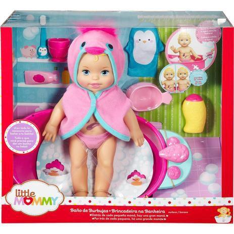 Boneca Little Mommy Brincadeira na Banheira - Mattel