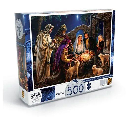 Quebra Cabeça Puzzle 500 peças Noite de Luz - Grow