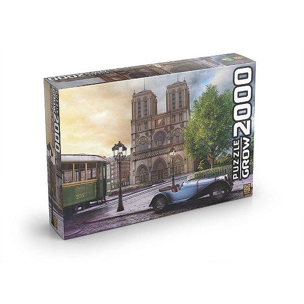Quebra Cabeça Puzzle 2000 peças Catedral de Notre-Dame - Grow