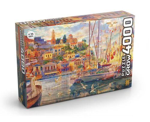 Quebra Cabeça 4000 peças Mar Egeu - Grow