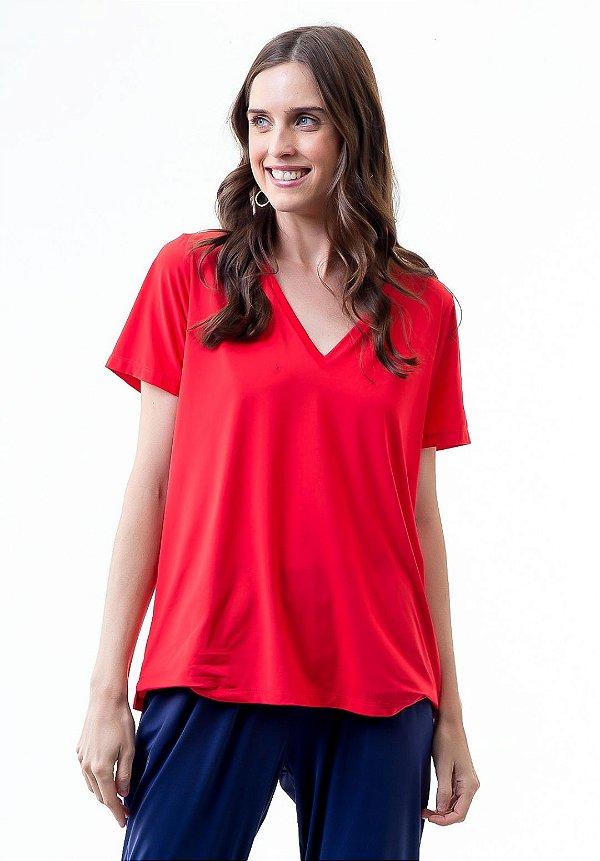 Camiseta Camila Flâmula