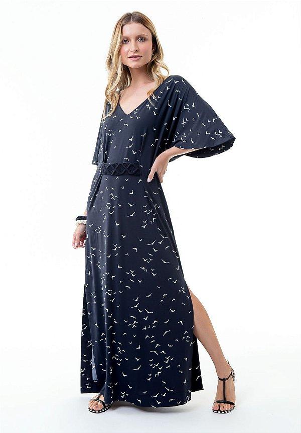 Vestido Marjorie Gaivotas