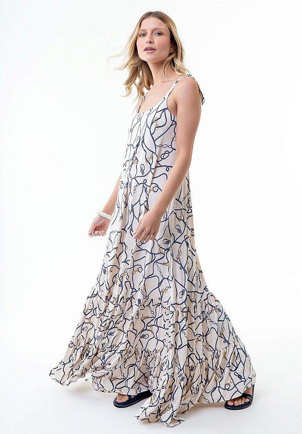 Vestido Selena Cordas