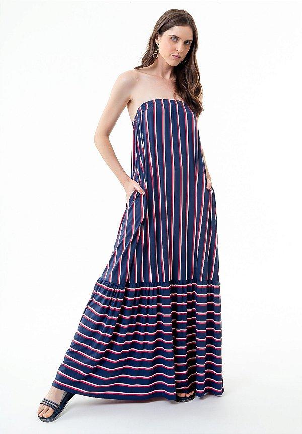 Vestido Taila Náutica