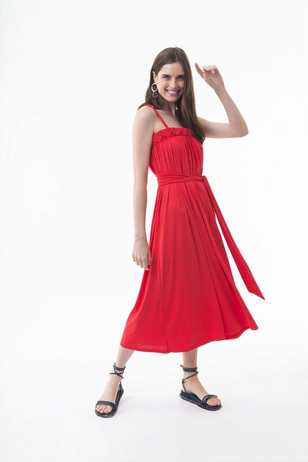 Vestido Dafine Flâmula