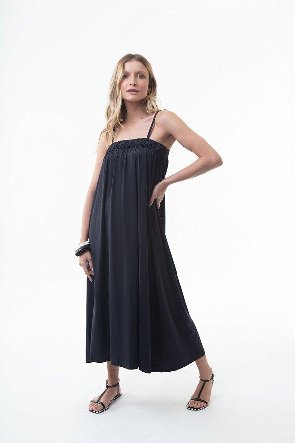 Vestido Dafine Preto