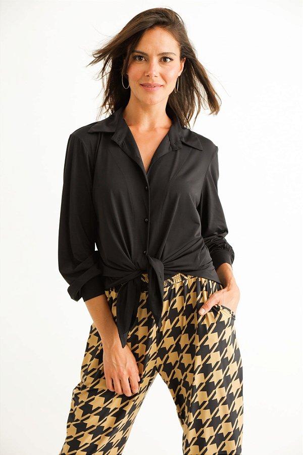 Camisa Karine Preto