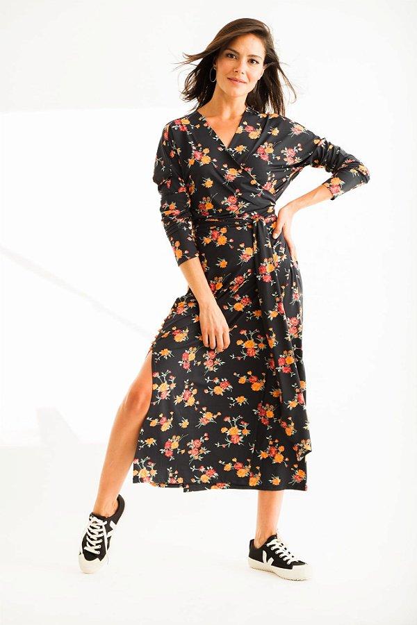Vestido Midi Talita Buquê