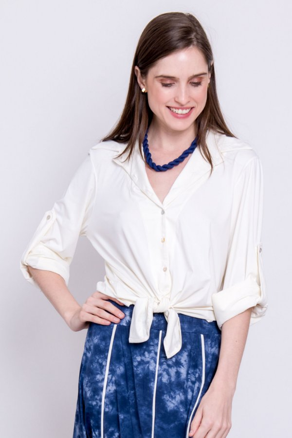 Camisa Cássia Off White