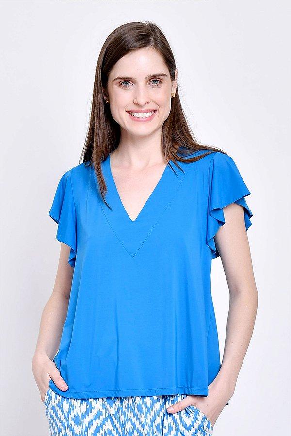 Blusa Beatriz Azul Porto