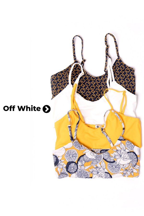 Top Cleo Off White