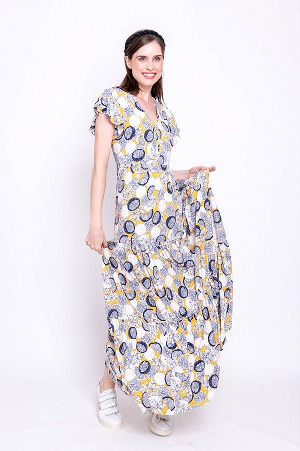 Vestido Longo Liz Lemon