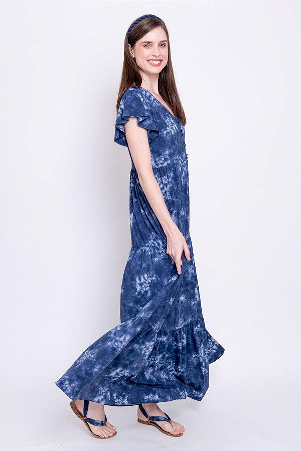 Vestido Midi Liz Tie Dye