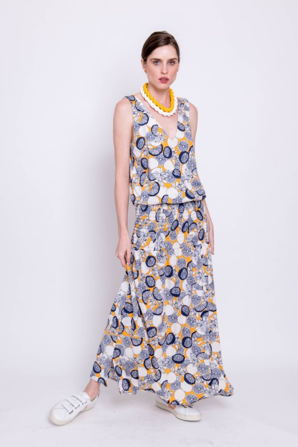Vestido Longo ou Midi Cleia Lemon