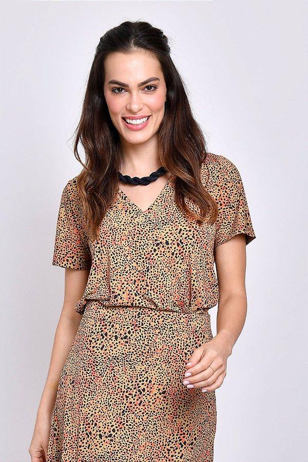 Camiseta Camila Animal Print