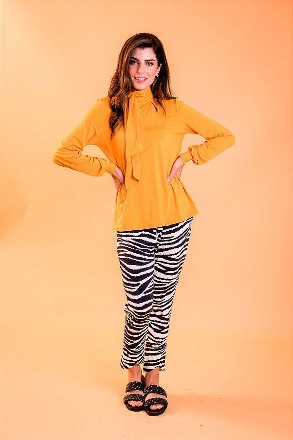 Blusa Lana Apricot