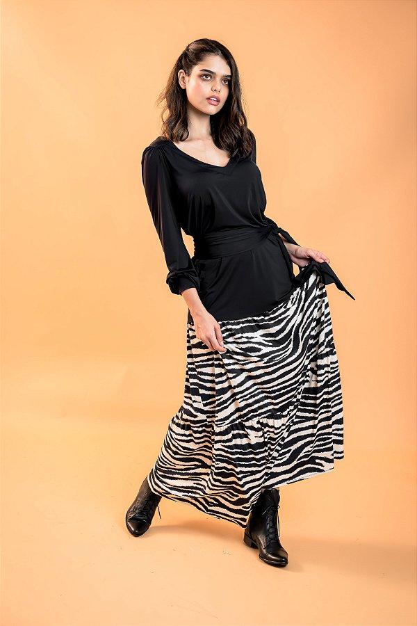 Saia Longa Samara Zebra