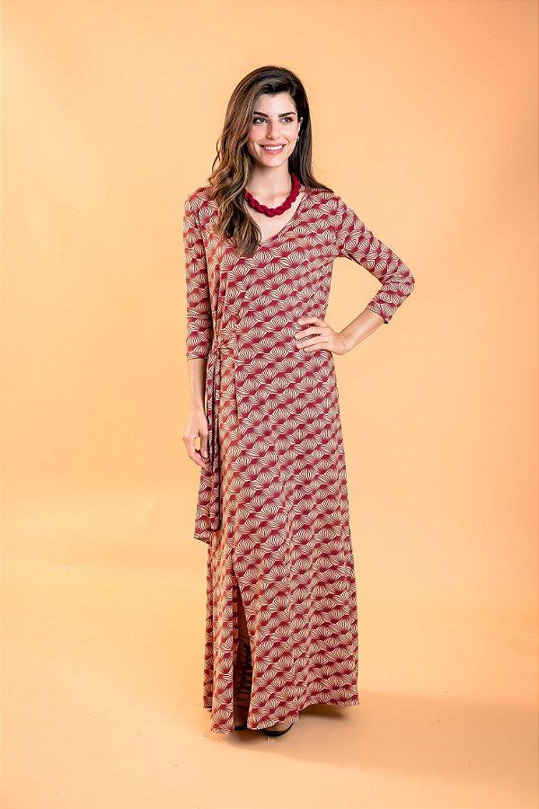 Vestido longo Alana Raízes