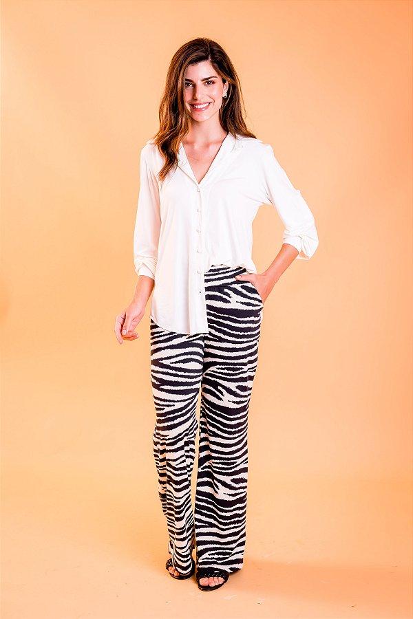 Camisa Karina Off White