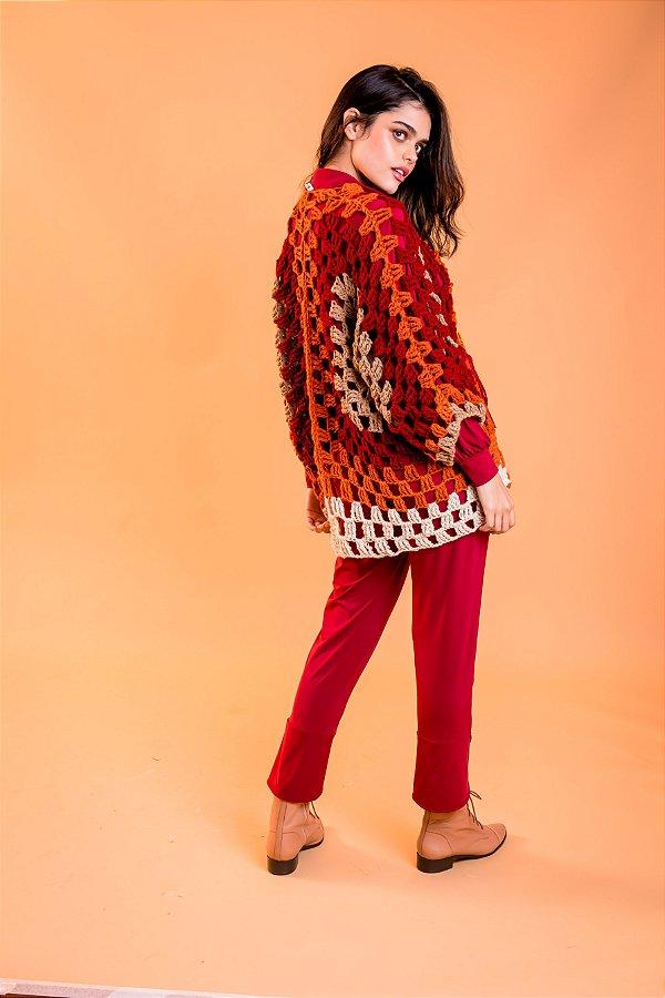 Kimono Samira Tricolor Terroso
