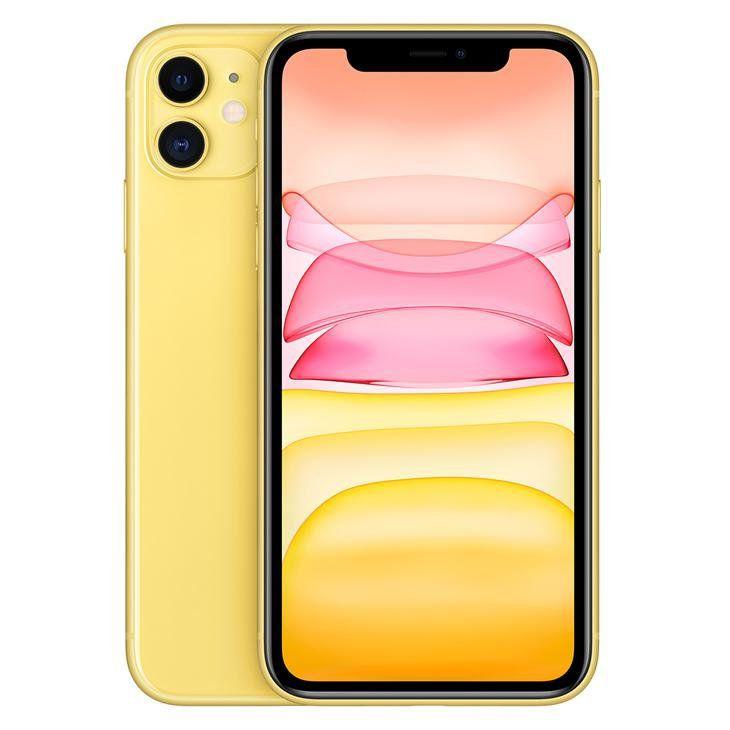 iPhone 11 Amarelo 256GB Novo, Desbloqueado com 1 Ano de Garantia - ND4STWUWS