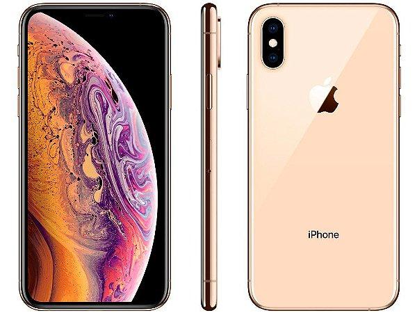 iPhone XS Dourado 512GB Novo, Desbloqueado com 1 Ano de Garantia - C859GDRD8