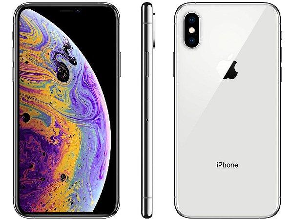 iPhone XS Prata 512GB Novo, Desbloqueado com 1 Ano de Garantia - 62JDC8Y5X