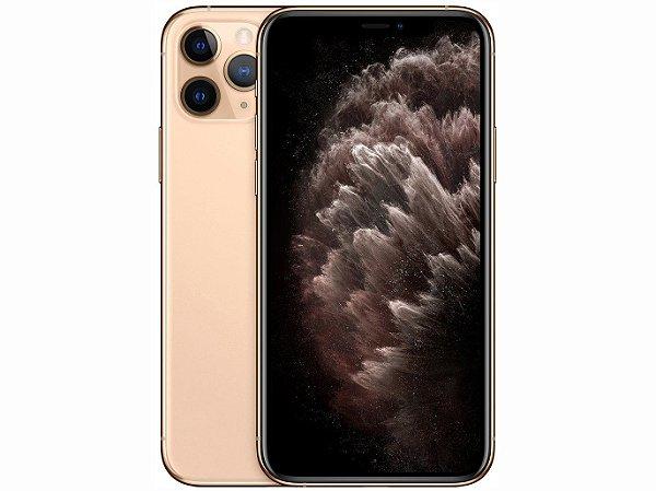 iPhone 11 Pro MAX Dourado 64GB Novo, Desbloqueado com 1 Ano de Garantia - KTNW5BHLP