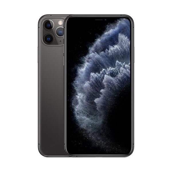iPhone 11 Pro MAX Cinza Espacial 512GB Novo, Desbloqueado com 1 Ano de Garantia - DR7UCWY8H
