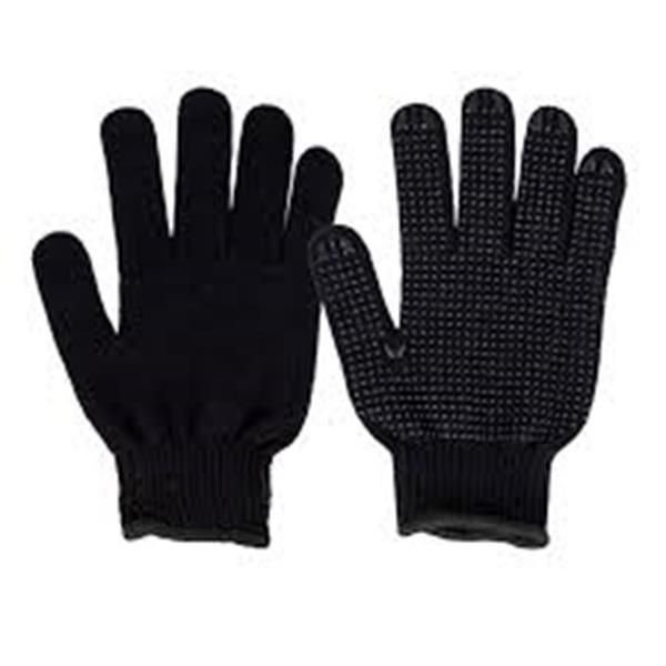 Luvas Tricotada preta pigmentada