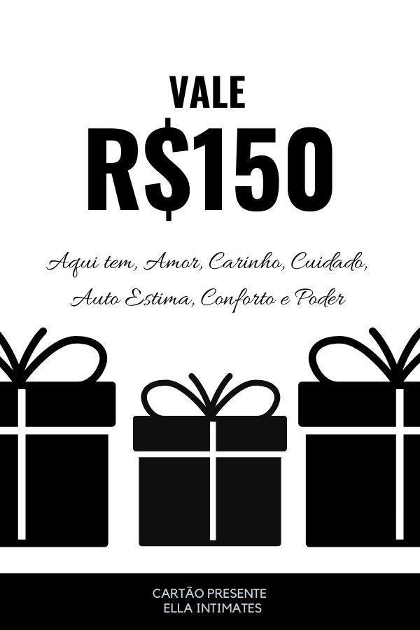 Cartão Presente R$150,00