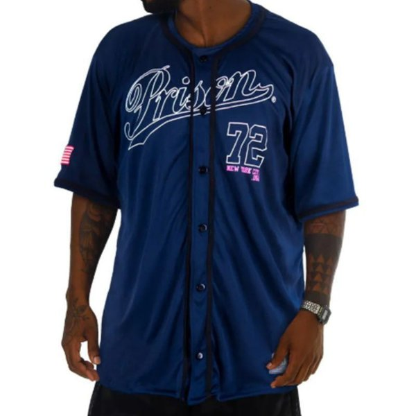 Camisa de baseball prison nyc 72