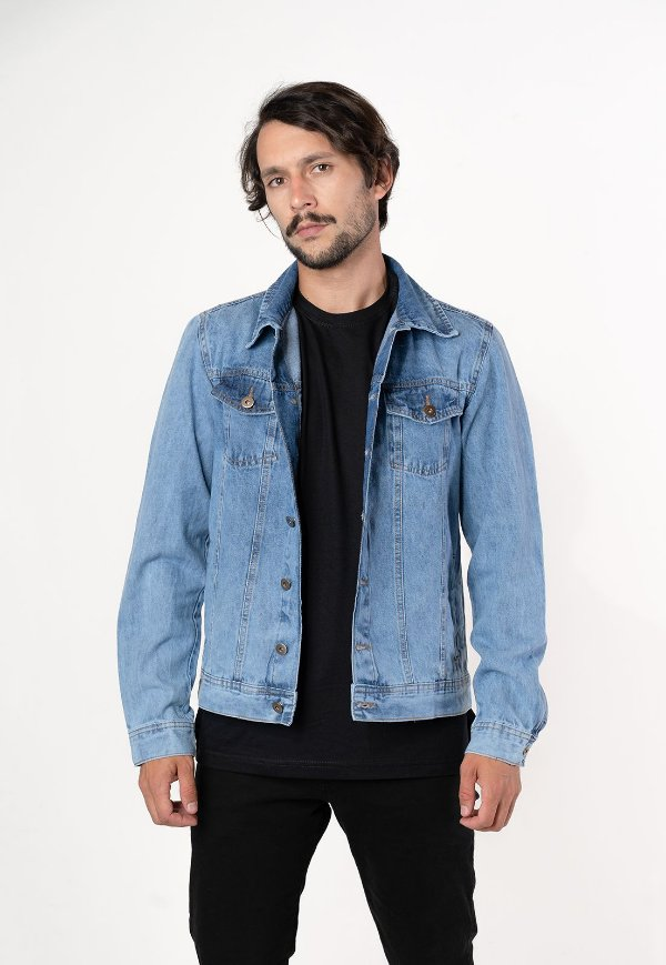 Jaqueta jeans basic Yellou